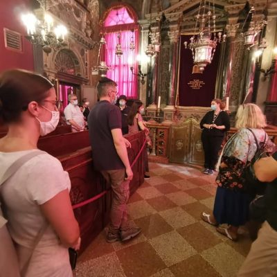 Ospiti a Venezia in sinagoga