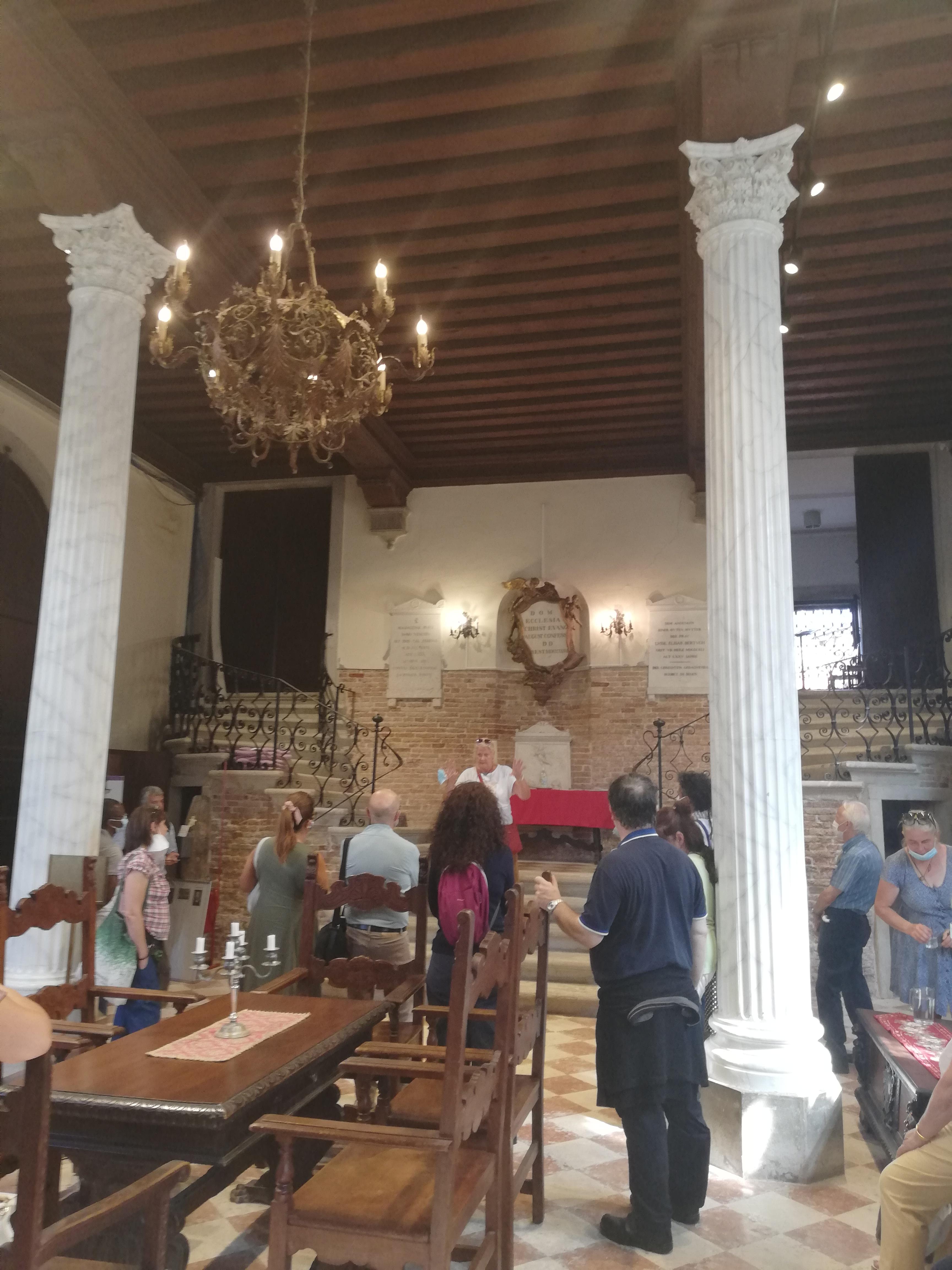 Ospiti a Venezia degli amici Luterani
